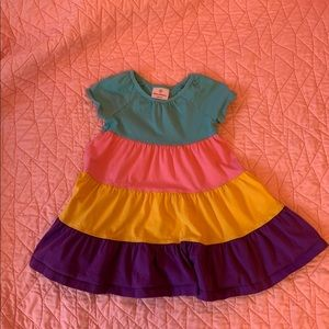 Hannah Andersson size 90 multi colored dress. 3T